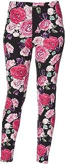 Women's Printed Brushed Leggings Regular and Plus Sizes