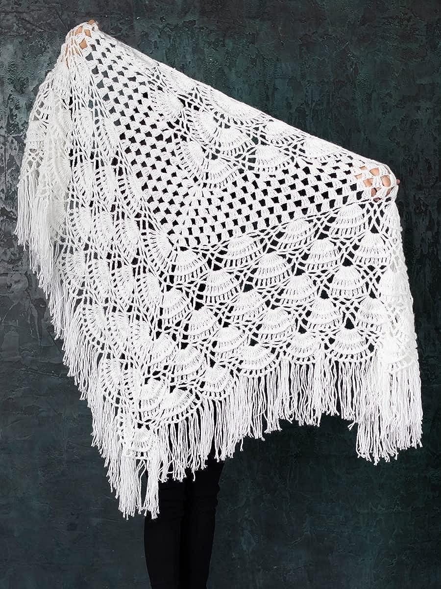 Russian Traditional Rashtex Shawl Shawls Shipping Quantity limited included Cape Amnu