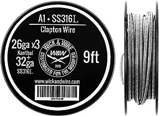 Clapton Wire - Heat Resistance Wire Spool (26ga x3 Kanthal, 32ga SS316L, 9 ft)