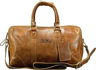 carolina sewn bag and leather