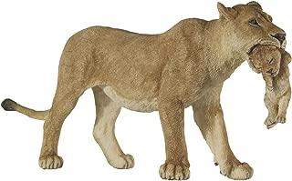Papo Wild Animal Kingdom Figure, Lioness with Cub