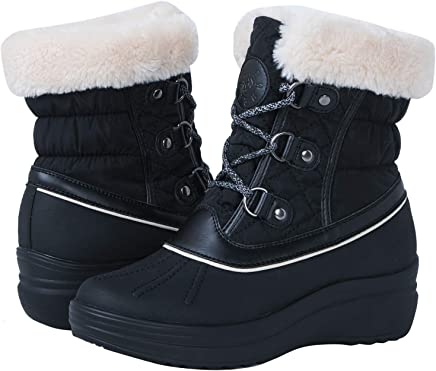 Globalwin Women's 1823 Winter Snow Boots