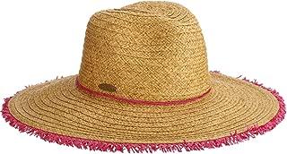 Panama Jack Women's Sun Hat - Packable, Lightweight Braid/Straw, UPF (SPF) 50+ Sun Protection, 3 1/2