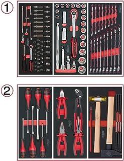 KS Tools 714.0114Composición de 114herramientas 2cajones para carro