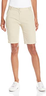 IZOD Junior's Uniform Skinny Bermuda Stretch Twill Short