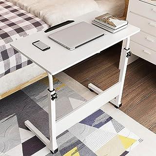 Feifei Table Mobile d'ordinateur Portable, Bureau de Table d'étude de Structure de Type C, Taille réglable, Armoire de Sof...