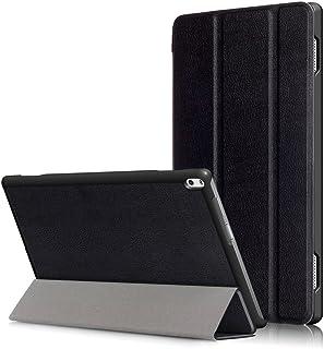 Kepuch Custer Lenovo Tab 4 10 Plus TB-X704F TB-X704N Funda - Slim Smart Cover Funda Protectora de PU Cuero para Lenovo Tab 4 10 Plus TB-X704F TB-X704N - Negro