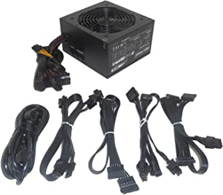HIGH POWER 600W Modular-Cable 80plus Bronze Energy Efficient Active PFC Quiet 120mm Fan Desktop PC ATX 12V Power Supply, Upgrade for Dell XPS 8300 8500 8700 8900 x8900 D460AM-02/DPS-460DB-10A