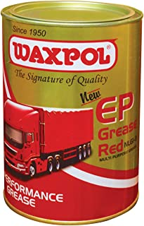 Waxpol EP3 Grease Red NLGI GC-LB Certified 1 Kg, EP 1 kg