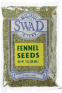 Great Bazaar Swad Fennel Seeds, 7 Ounce (7oz)