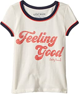 Lucky Brand Kids Evie Tee (Toddler)