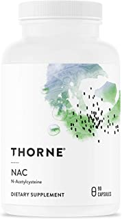 Thorne Research - NAC (Formerly Cysteplus) - N-Acetylcysteine for Liver Support, Detoxification, and Immune Function - 90 ...