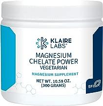 Klaire Labs Magnesium Chelate Powder - Fast-Dissolving 200 Milligrams High Absorption TRAACS Bisglycinate, Vegetarian & Hypoallergenic (120 Servings, 300 Grams)