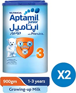Aptamil Junior 3 Growing Up Milk Tin 900g Set of 2