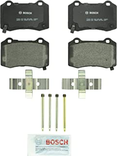 Bosch BP1053 QuietCast Premium Semi-Metallic Disc Brake Pad Set For Select Cadillac CTS STS; Chevrolet Camaro; Chrysler 300; Dodge Challenger, Charger, Durango, Magnum; Ferrari F430; Jeep; Rear