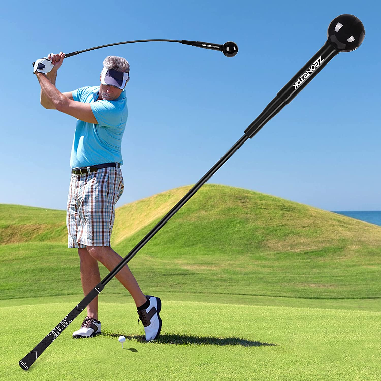 35% OFF Zeonetak Golf Swing Cheap mail order shopping Trainer Aid Improving Flexibility Rhythm for
