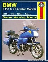UH1373 Used Haynes 1983-1993 BMW K-Series K100 K75 2 Valve Models Workshop Manual