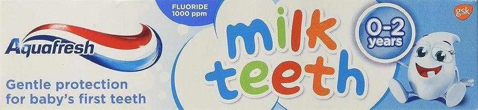 Aquafresh Milk Teeth Toothpaste 0-2 Years (50ml) - Pack of 2