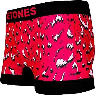 BETONES (ビトーンズ) メンズ ボクサーパンツ LEOPARD PINK ヒョウ柄 dwearsステッカー入り ローライズ アンダーウェア 無地 ブランド 男性 下着 誕生日 プレゼント