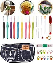 tamaños elegibles plateada con mango Soft y aluminio Knit pro agujas crochet Waves