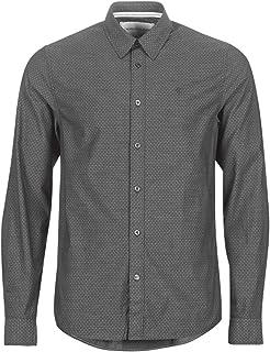 Calvin Klein Jeans Men's Dobby Slim Stretch Shirt