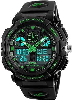 Skmei Fan Sport Watch For Unisex Analog-Digital Rubber - 1270