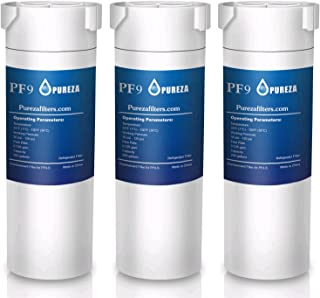 Pureza filters XWF water filter GE,refrigerator water filter NSF 42 Certified Suitable for GE french-door & Side by Side refrigerators, Replacement for GE XWF Genuine SmartWater (Pack of 3)