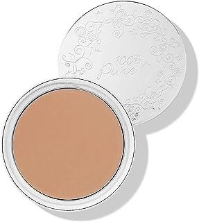 100% PURE Fruit Pigmented Cream Foundation, Golden Peach, Full Coverage Foundation, Anti-Aging, Matte Finish, Vegan Makeup...