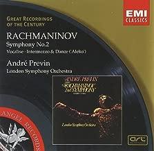 Rachmaninov: Symphony No. 2 in E Minor Op. 27/Vocalise/Aleko- Intermezzo & Women's Dance Great Recordings of the Century