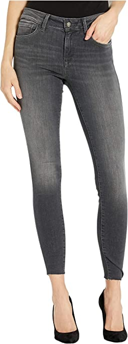 Adriana Mid-Rise Super Skinny in Grey Everyday Tribeca