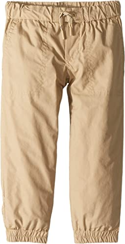Cotton Poplin Joggers (Toddler)