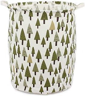 """Homele 19.7"""" Large Laundry Hamper Bucket Waterproof Coating Cotton Laundry Basket.."""