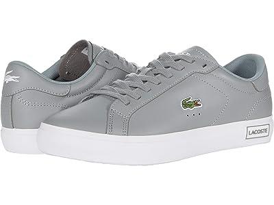 Lacoste Powercourt 0520 1 (Grey/White) Men