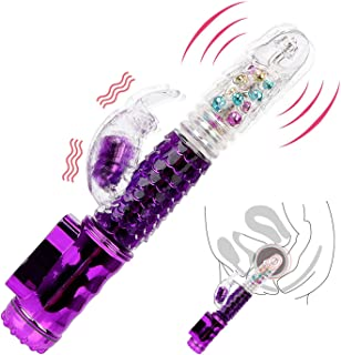 MAKKEN TSHIRT Big D.i.lDò Vibrators 360 Degree Rotation Transfer Beads AV Rod Stick 32 Frequencies