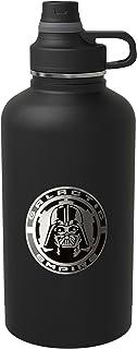 Zak! Designs Jarras de aislamiento al vacío con tapa convertible de rosca, Negro (Star Wars Black), 1