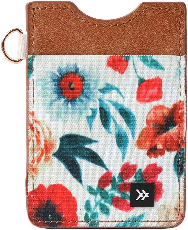 Thread Wallets - Slim Minimalist Wallet - Vertical Card Holder (Carissa)