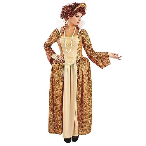 Ladies Tudor Queen World Book Day Fancy Dress Costume
