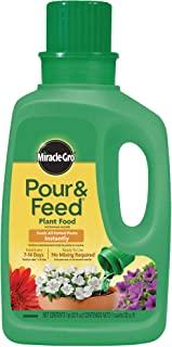 Miracle-Gro پور و غذای مایع گیاهان ، 32 اونس (کود گیاهی)