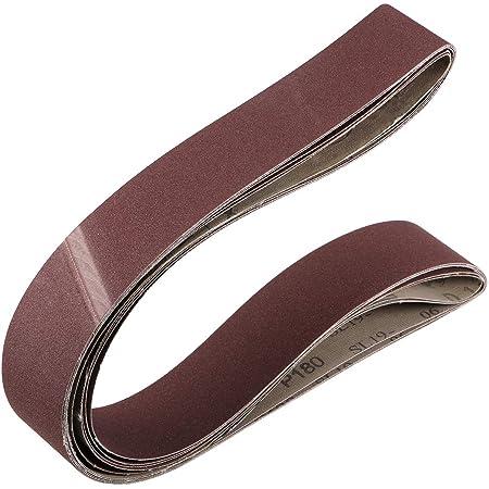 2 x 27 Inch Sanding Belt 400 Grit Sand Belts for Belt Sander 5pcs