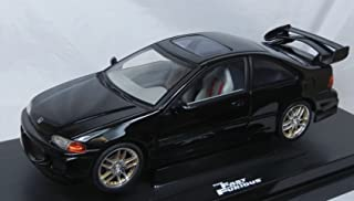 The Fast and the Furious 1995 Honda Civic Diecast Race Car 1:18 Scale by Ertl [並行輸入品]