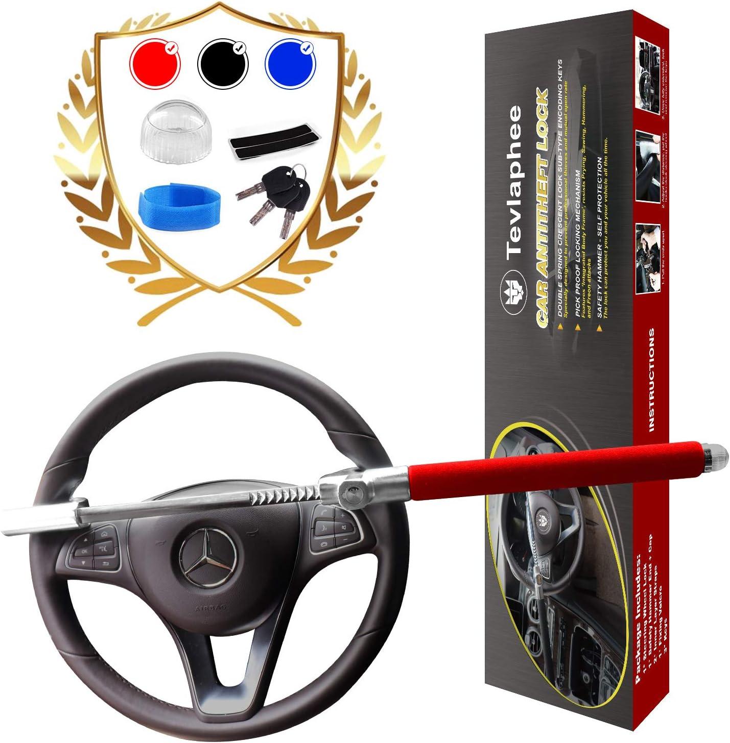 Tevlaphee Steering Regular dealer Wheel Lock Anti-T for Cars Vehicle Raleigh Mall