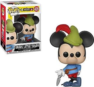 Brave Little Tailor Mickey: Funko POP! Vinyl Figure & 1 POP! Compatible PET Plastic Graphical Protector Bundle [#429 / 32189 - B]