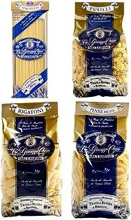 Pasta Cocco - 4 Paquetes Sortidos de 500 g - Spaghetti, Penne Rigate, Rigatoni y Farfalle - Cavalier Giuseppe Cocco Fara San Martino Abruzzo - fabricante de la pasta artesanal italiano