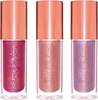 Lime Crime Holiday Glow Mini Plushies Lip, 3-Piece Set, 4.2