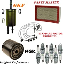 8USAUTO Tune Up Kit Air Oil Fuel Filters Wire Spark Plug Fit FORD EXPLORER V6 4.0L; EXC. SPORT 2003