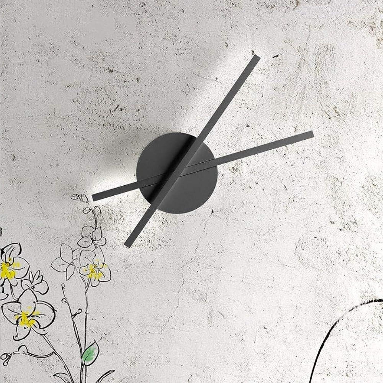Minute wandleuchte, moderne minimalistische schlafzimmer nachttisch kreative persnlichkeit warm led studie flur gang wandleuchte