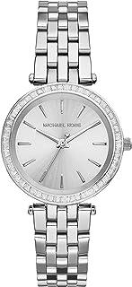 Michael Kors Darci Three-Hand Watch with Glitz Accents, 33mm