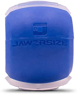Best Jawzrsize Jaw, Face, and Neck Exerciser - Define Your Jawline, Slim and Tone Your Face, Look Younger and Healthier - Helps Reduce Stress and Cravings - Facial Exerciser (Level 1 - Beginner) (Small, Blue) Review