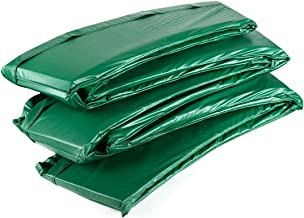 Ampel 24 Deluxe trampoline randafdekking, passend voor trampoline Ø 366 cm, scheurbestendige veerafdekking en groene UV-be...
