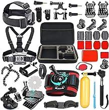 SmilePowo 42-in-1 Accessories Kit for GoPro Hero8 7 Black/GoPro Fusion/Hero6 Black /Hero5..
